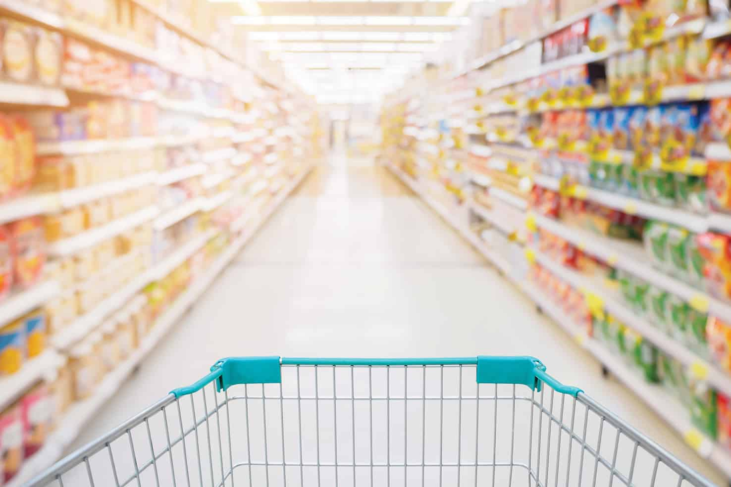 Are grocery shop owners off their trolley?